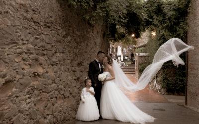Matrimonio Fabio e Cristina a Larciano
