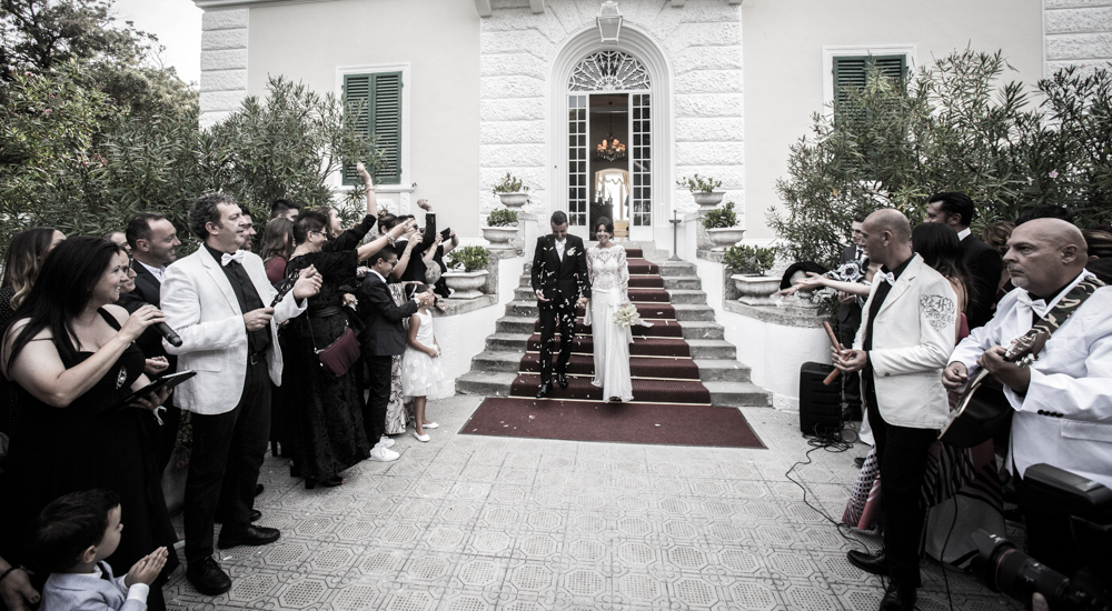 Matrimonio Luca e Sara a Castiglioncello