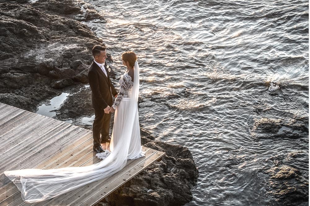 Matrimonio Luca e Sara, cerimonia e ricevimento a Villa Parisi Castiglioncello