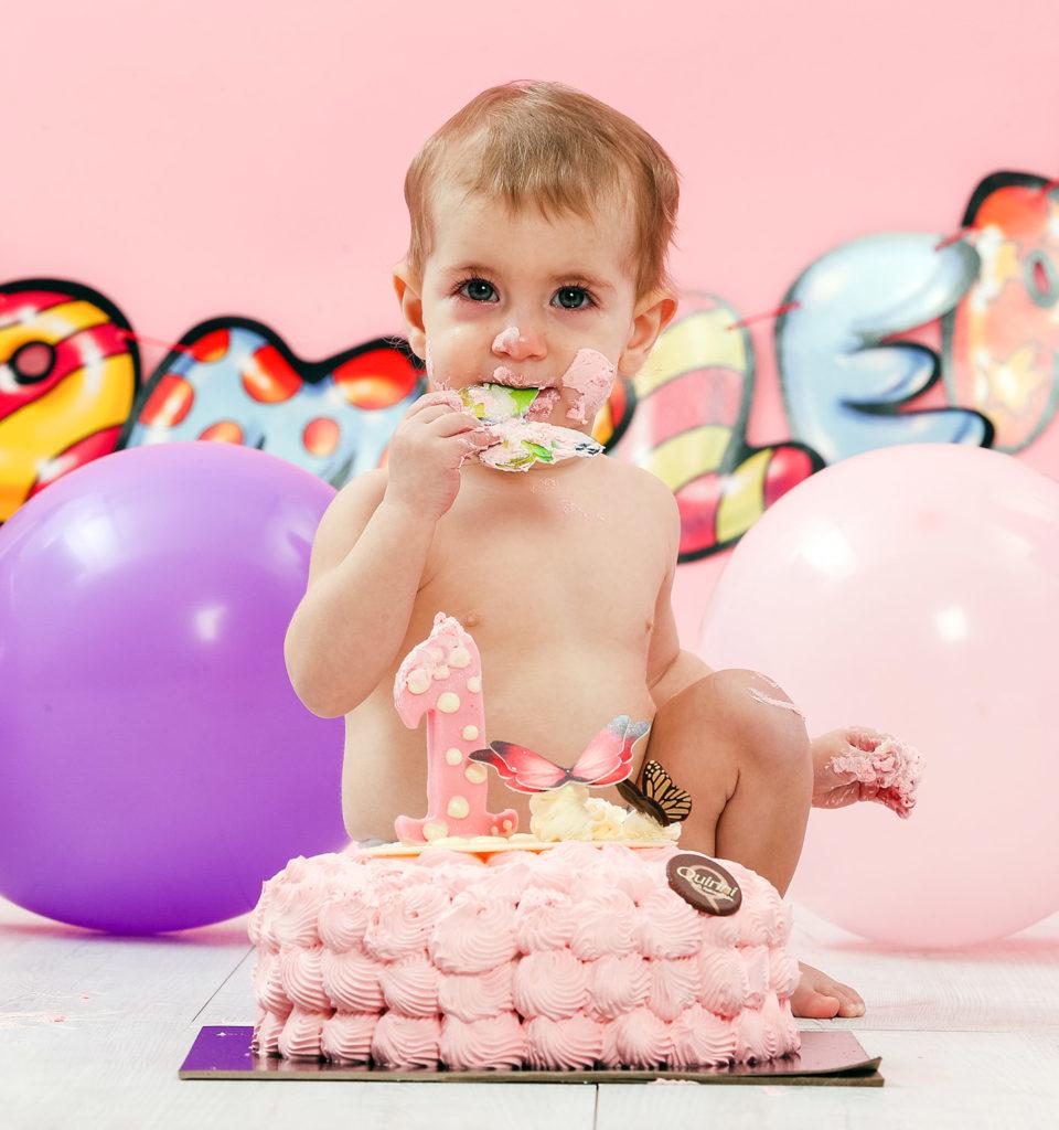 Smash cake Aurora