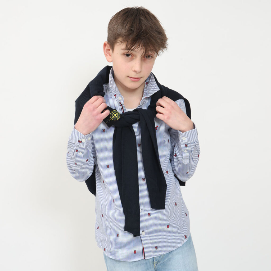 shooting moda bambino