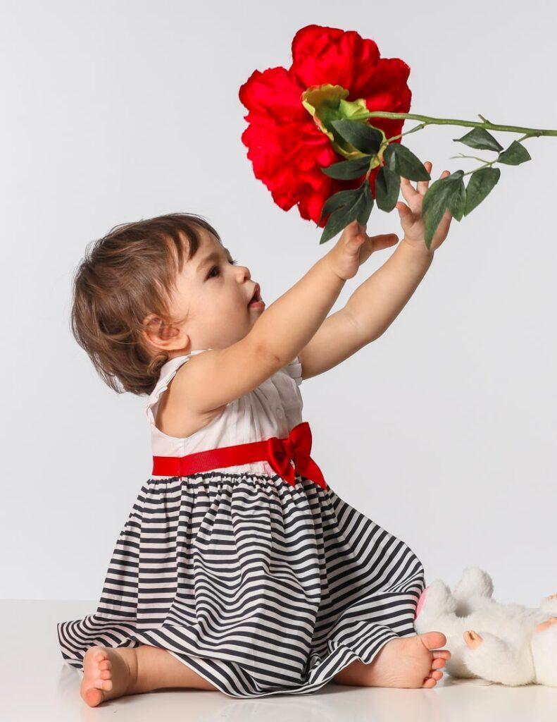 nadia e il fiore