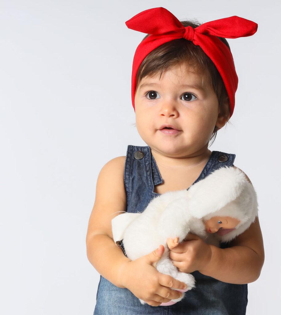 nadia e la bambola