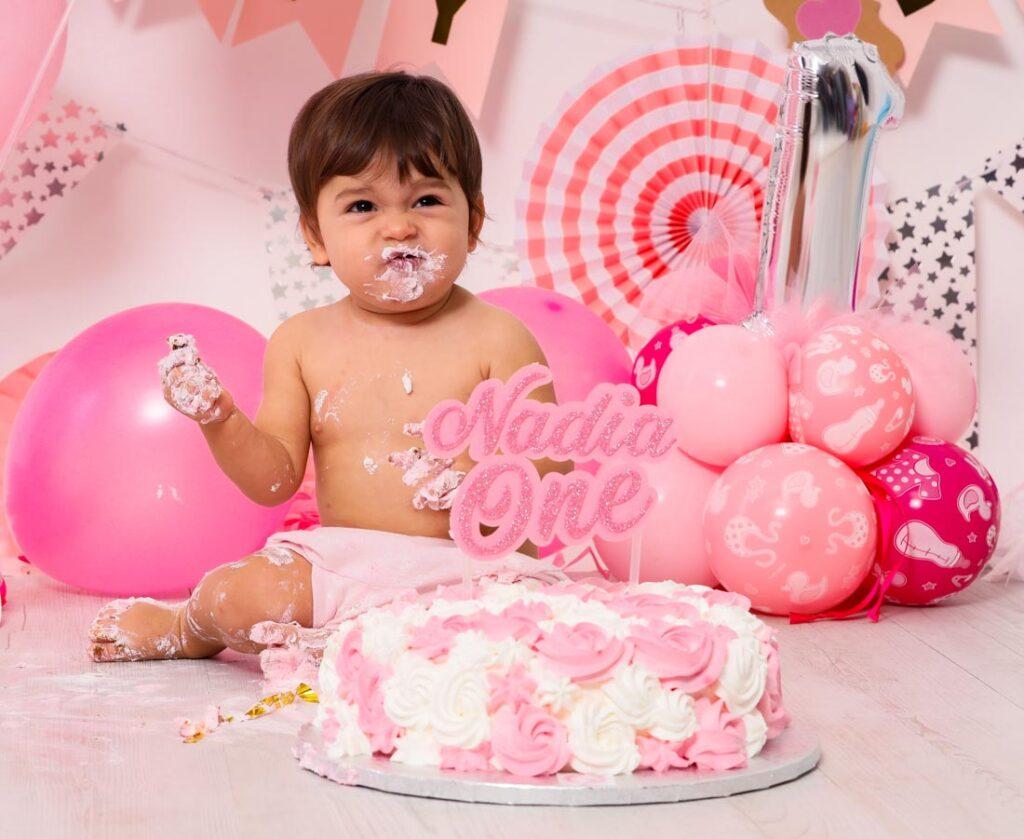 torta compleanno neonata